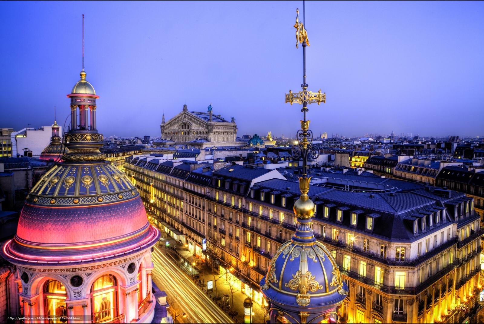 Скачать обои Paris,  France,  Париж,  Франция бесплатно для рабочего стола в разрешении 2048x1370 — картинка №654646