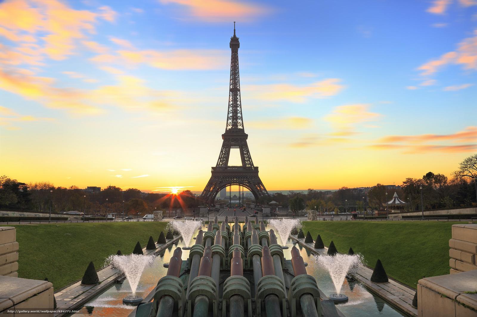 Download wallpaper Eiffel Tower,  Paris,  France,  Eiffel Tower free desktop wallpaper in the resolution 2048x1365 — picture №654771