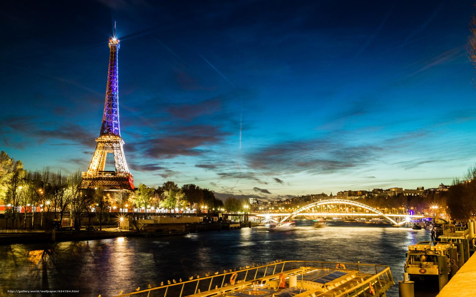 Download wallpaper Eiffel Tower,  Paris,  France,  Eiffel Tower free desktop wallpaper in the resolution 2048x1280 — picture №654784