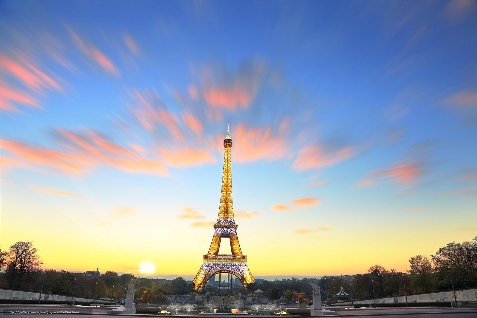 Download wallpaper Eiffel Tower,  Paris,  France,  Eiffel Tower free desktop wallpaper in the resolution 2048x1365 — picture №654794