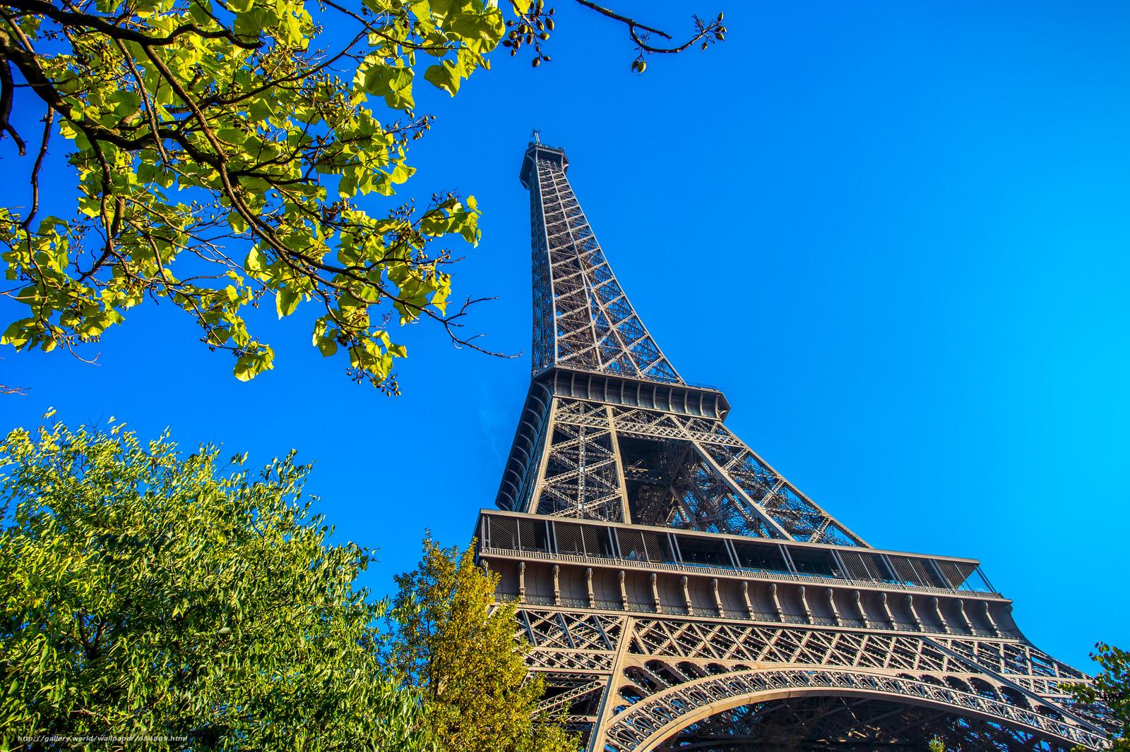 Скачать обои Eiffel Tower,  Paris,  France,  Эйфелева башня бесплатно для рабочего стола в разрешении 2048x1365 — картинка №654809