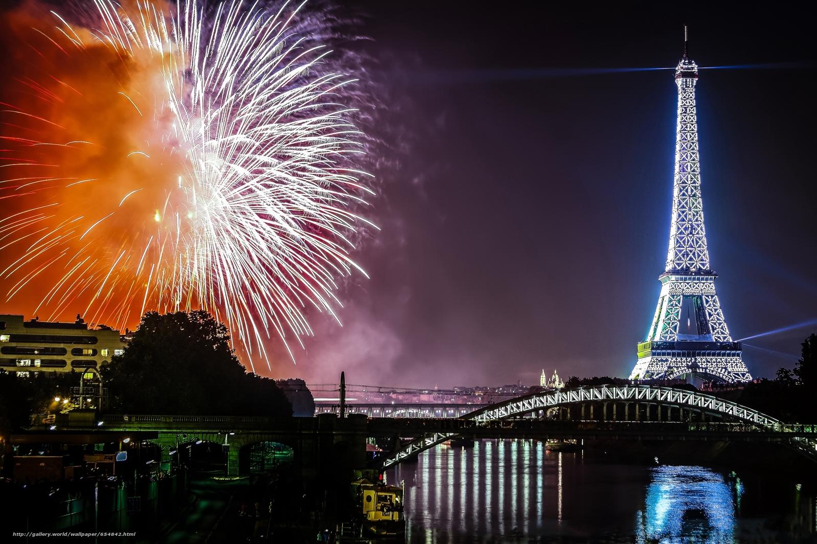 scaricare gli sfondi Torre Eiffel,  Parigi,  Francia,  Torre Eiffel Sfondi gratis per la risoluzione del desktop 2048x1365 — immagine №654842