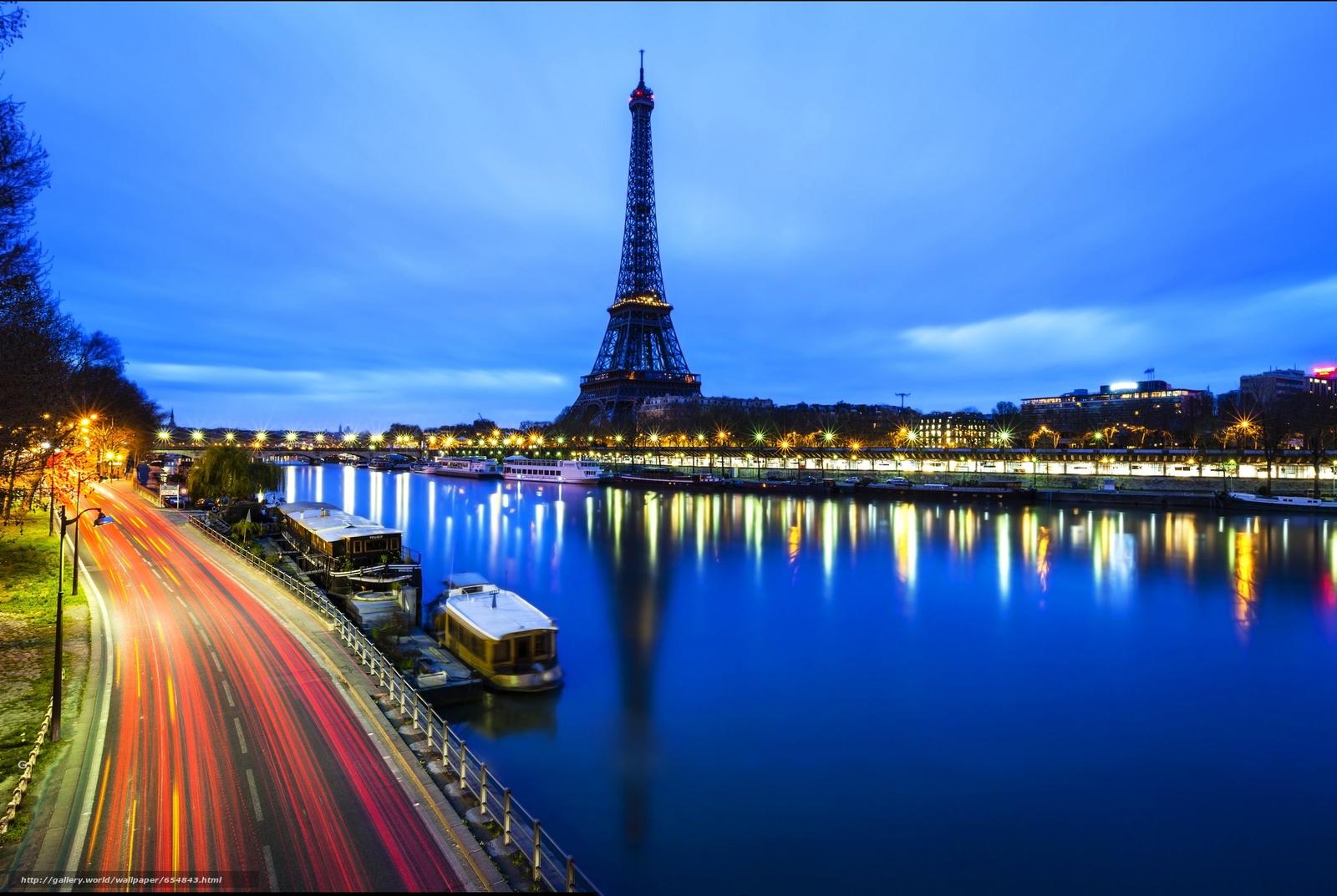Download wallpaper Eiffel Tower,  Paris,  France,  Eiffel Tower free desktop wallpaper in the resolution 2048x1373 — picture №654843