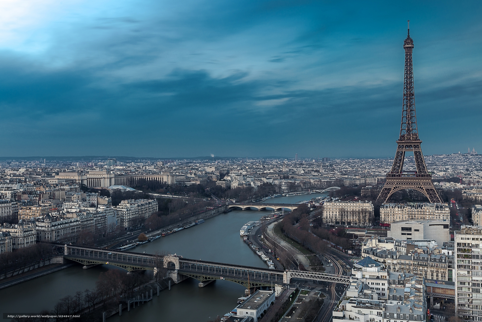 Скачать обои Eiffel Tower,  Paris,  France,  Эйфелева башня бесплатно для рабочего стола в разрешении 5472x3648 — картинка №654847