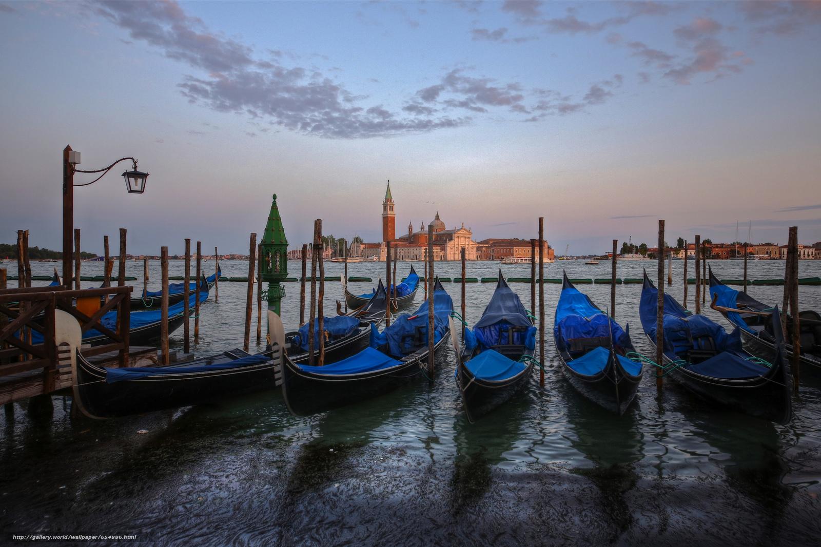 scaricare gli sfondi Venezia,  Canal Grande,  Italia Sfondi gratis per la risoluzione del desktop 2048x1364 — immagine №654886