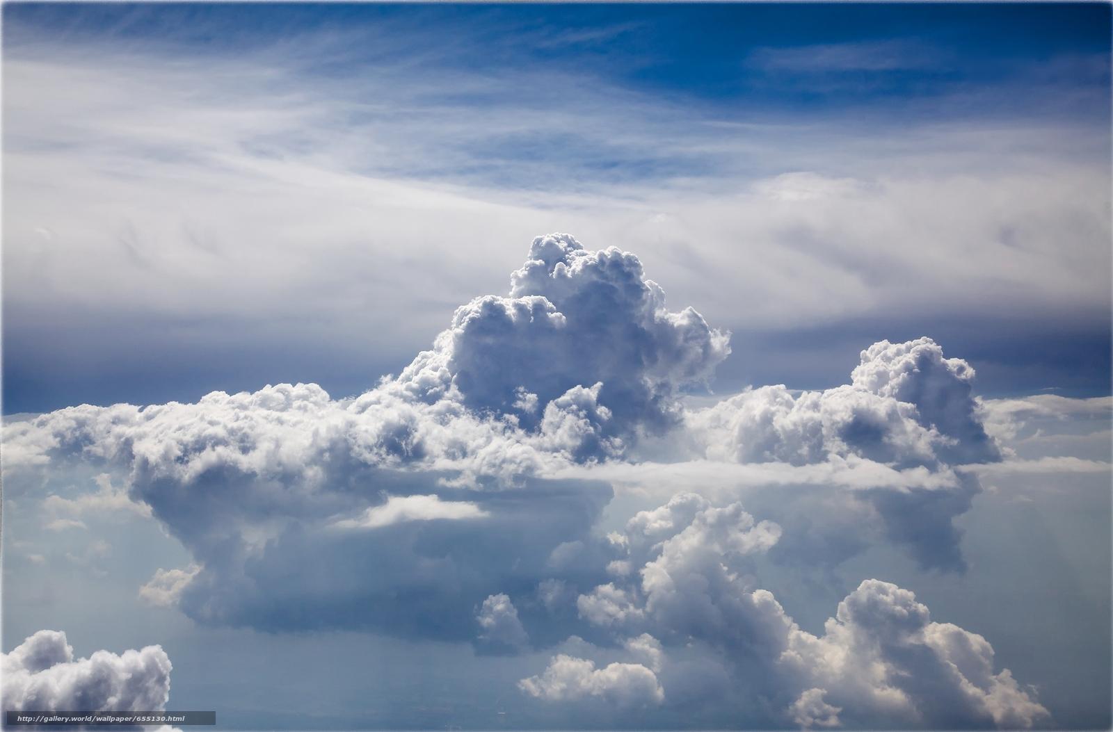 Скачать обои небо,  облака,  природа бесплатно для рабочего стола в разрешении 1956x1287 — картинка №655130