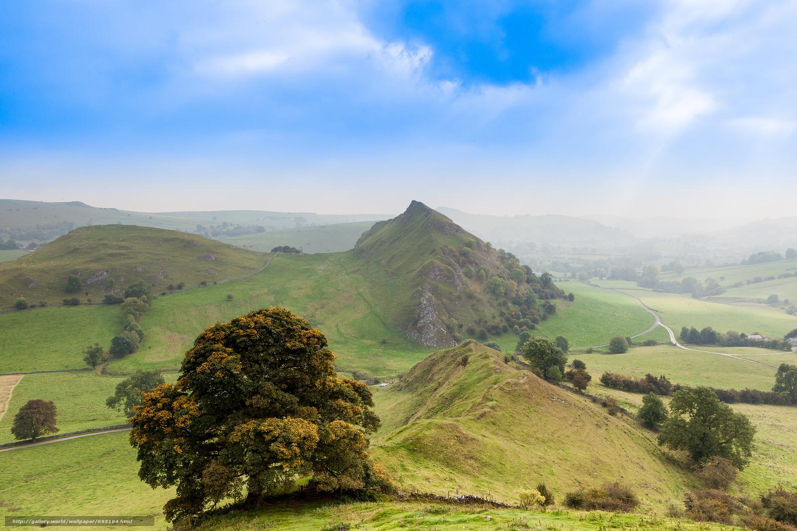 Descargar gratis Montañas,  Hills,  árbol,  naturaleza Fondos de escritorio en la resolucin 2048x1365 — imagen №655194
