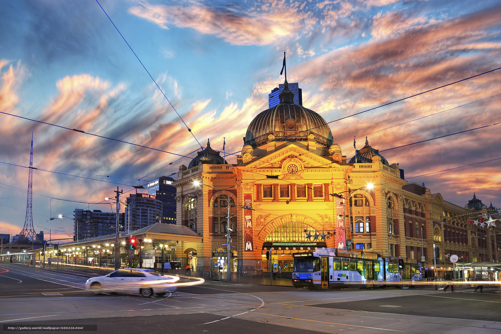 Download wallpaper Melbourne,  Australia,  city free desktop wallpaper in the resolution 2048x1365 — picture №655228