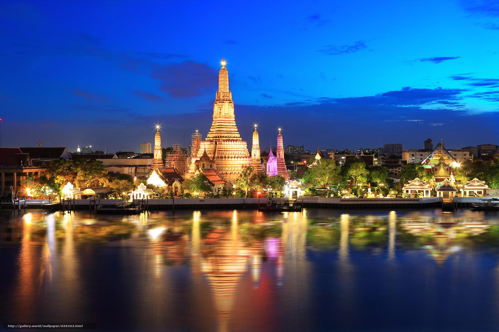 Tlcharger Fond d'ecran Bangkok,  capitale et plus grande ville de Thaïlande,  Thaïlande Fonds d'ecran gratuits pour votre rsolution du bureau 2048x1365 — image №655263