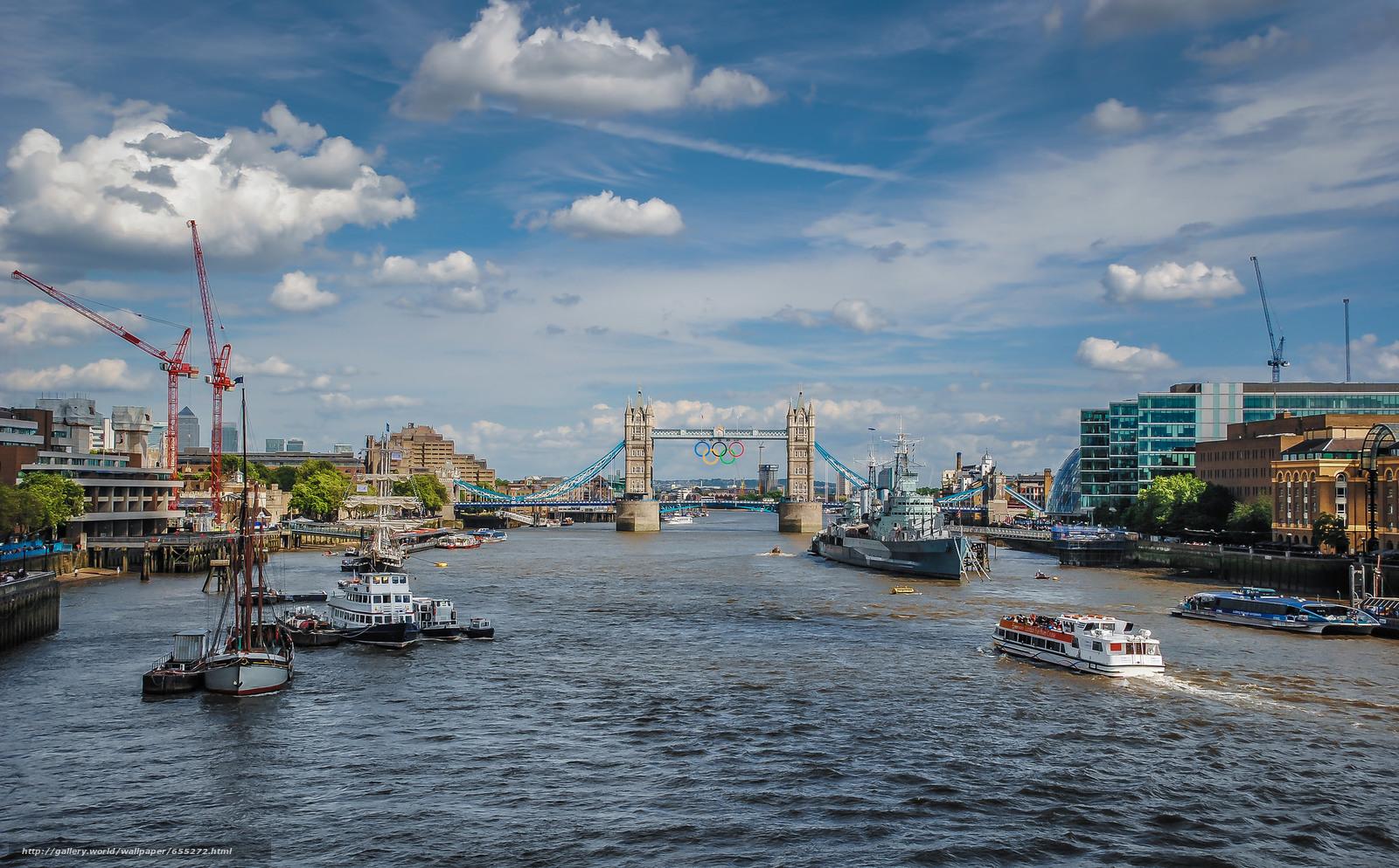 scaricare gli sfondi Tower Bridge,  londra,  città Sfondi gratis per la risoluzione del desktop 2048x1272 — immagine №655272