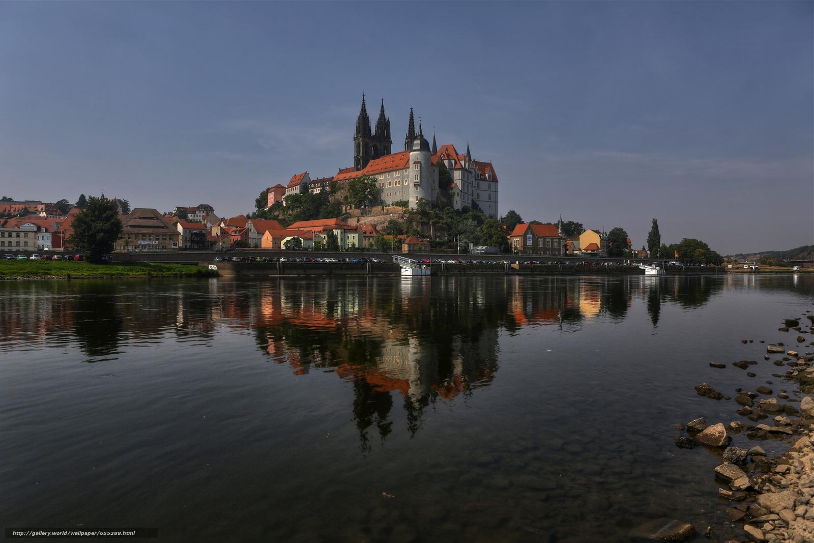scaricare gli sfondi Meissen,  Germania,  castello Sfondi gratis per la risoluzione del desktop 2048x1366 — immagine №655288