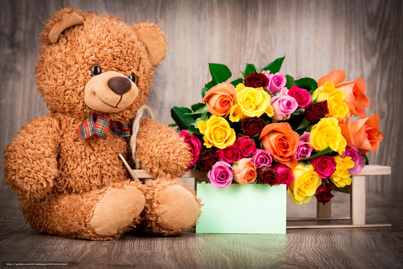 pobra tapety Valentine,  Kwiaty,  Roses,  BUDS Darmowe tapety na pulpit rozdzielczoci 7360x4912 — zdjcie №655436