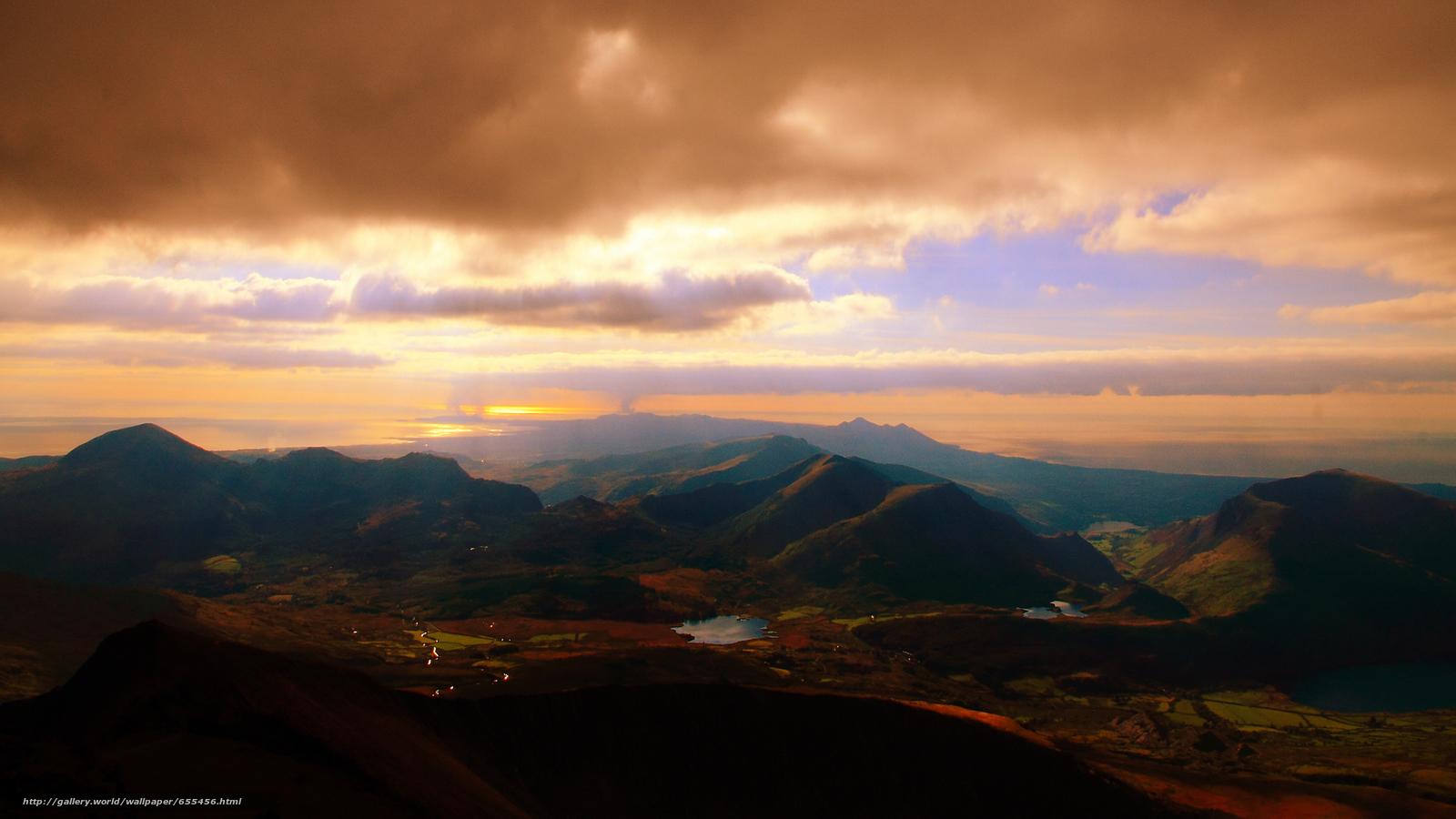 Скачать обои обои от Kisenok,  горы,  небо,  свет бесплатно для рабочего стола в разрешении 2600x1462 — картинка №655456