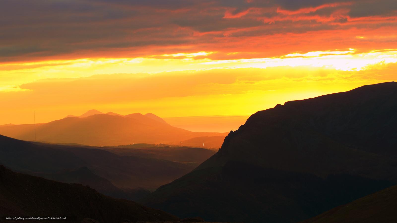 Скачать обои обои от Kisenok,  горы,  небо,  свет бесплатно для рабочего стола в разрешении 2600x1462 — картинка №655460