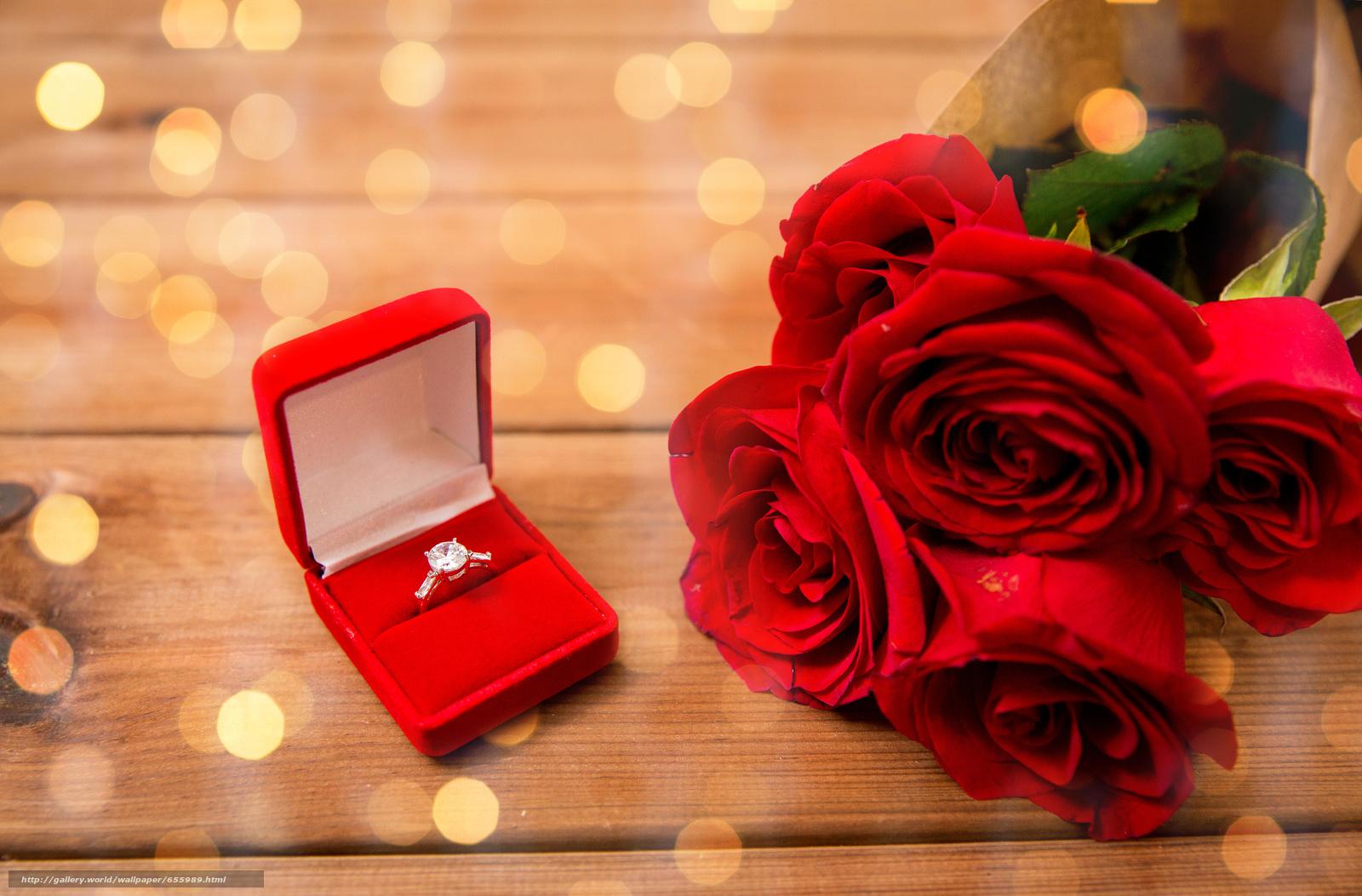 scaricare gli sfondi Roses,  bouquet,  GERMOGLI,  Anello Sfondi gratis per la risoluzione del desktop 4272x2812 — immagine №655989