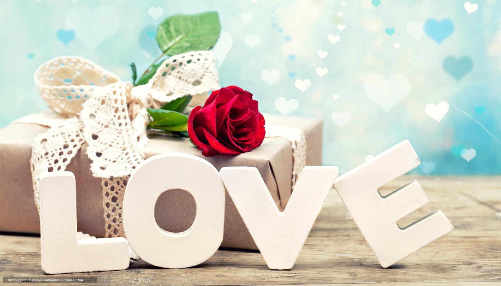 Tlcharger Fond D Ecran Valentin Rose Cadeau Aimer Fonds