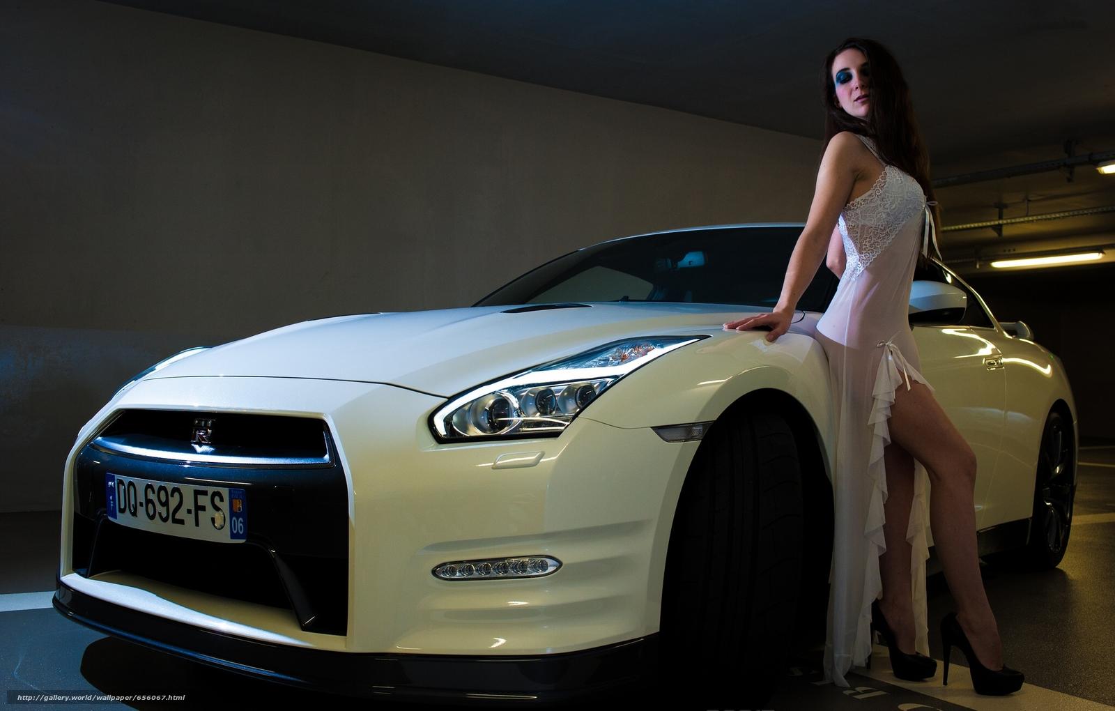 scaricare gli sfondi Nissan GT-R,  Supercar,  macchina,  Car Sfondi gratis per la risoluzione del desktop 2048x1305 — immagine №656067