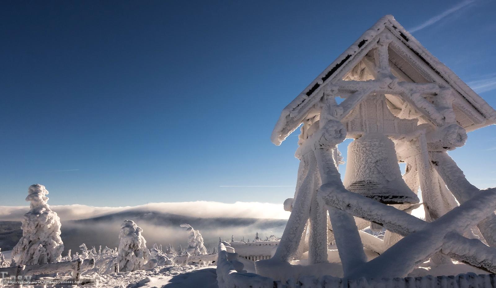 Tlcharger Fond d'ecran Fichtelberg Montagne,  monts Métallifères,  Saxe,  Allemagne Fonds d'ecran gratuits pour votre rsolution du bureau 3845x2232 — image №656081