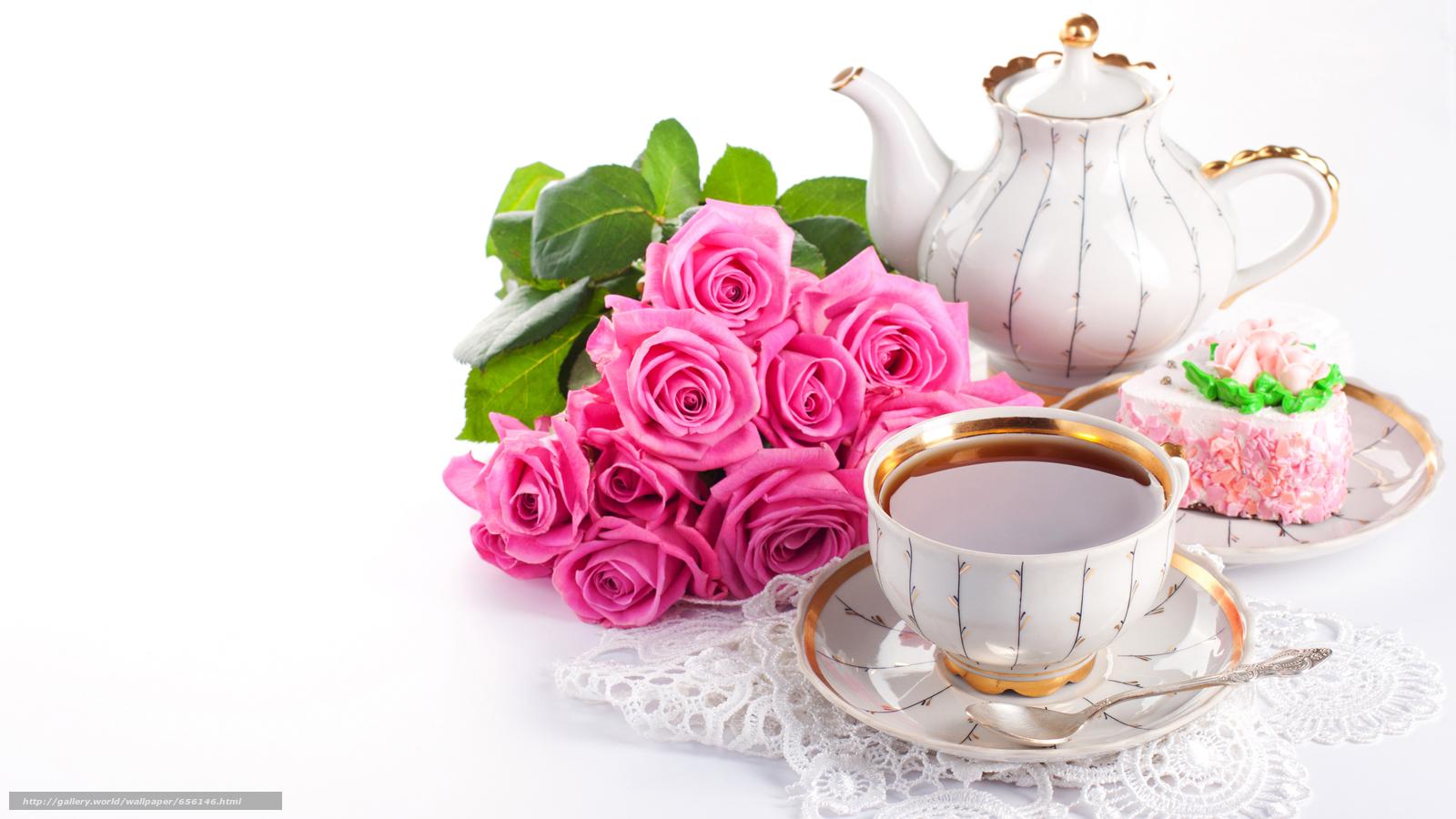 Скачать обои обои от Kisenok,  розы,  розовые,  цветы бесплатно для рабочего стола в разрешении 4752x2673 — картинка №656146