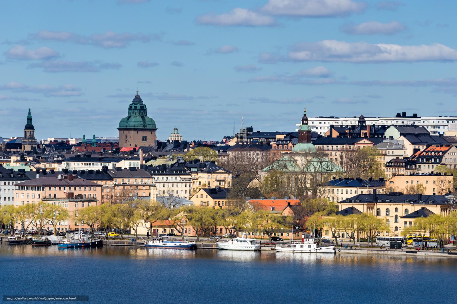 Baixar Wallpaper Estocolmo,  Suécia,  cidade Papis de parede grtis na resoluo 1920x1280 — quadro №656210