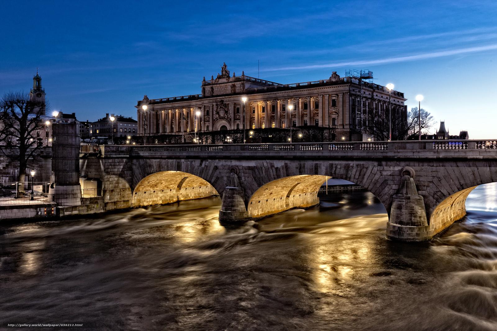 scaricare gli sfondi Stoccolma,  Svezia,  città Sfondi gratis per la risoluzione del desktop 1920x1280 — immagine №656212