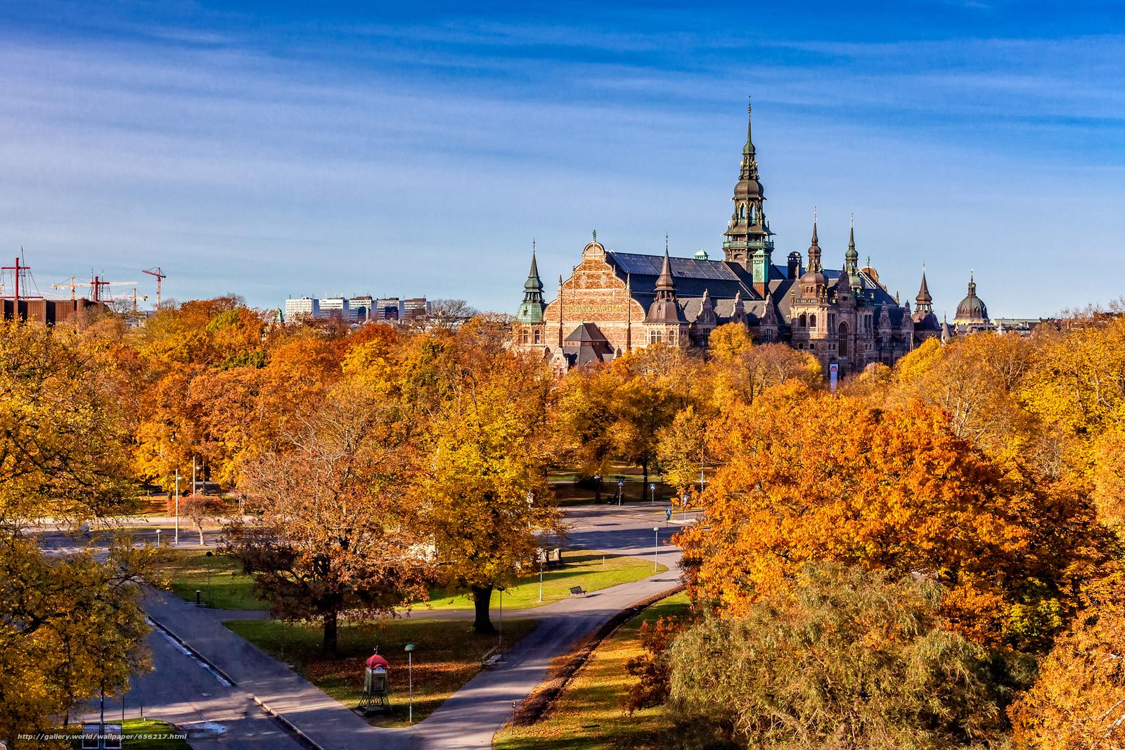 scaricare gli sfondi Stoccolma,  Svezia,  città Sfondi gratis per la risoluzione del desktop 1920x1280 — immagine №656217