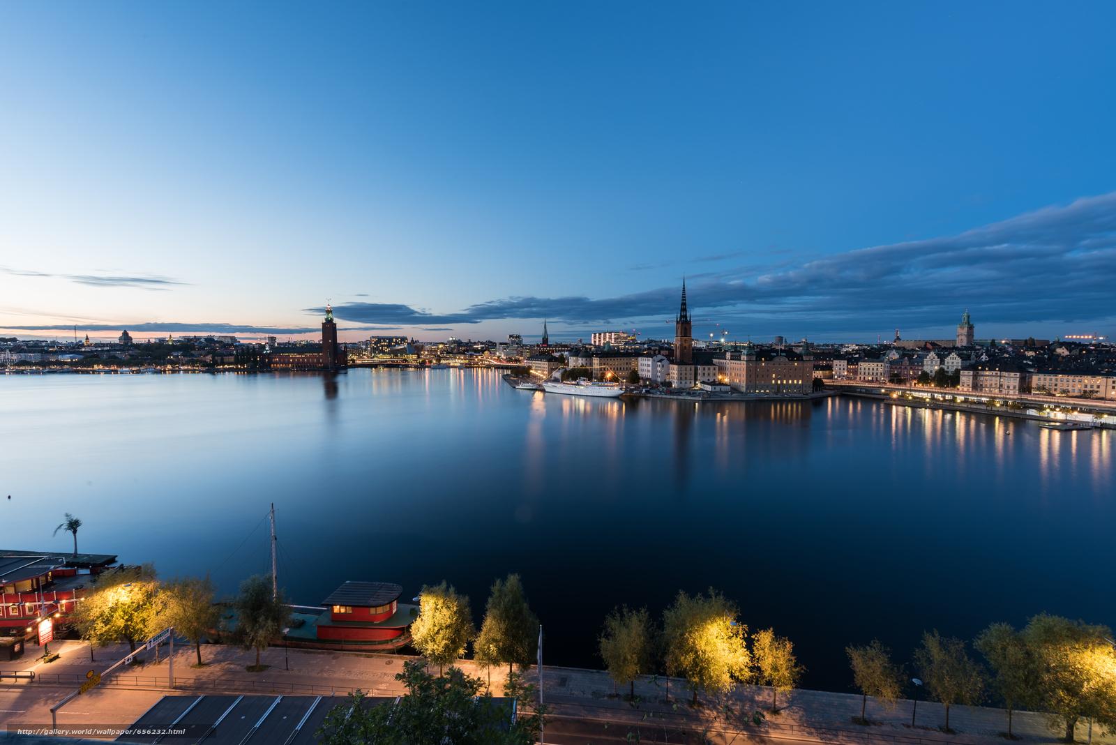 壁紙をダウンロード ストックホルム,  スウェーデン,  都市 デスクトップの解像度のための無料壁紙 7360x4912 — 絵 №656232