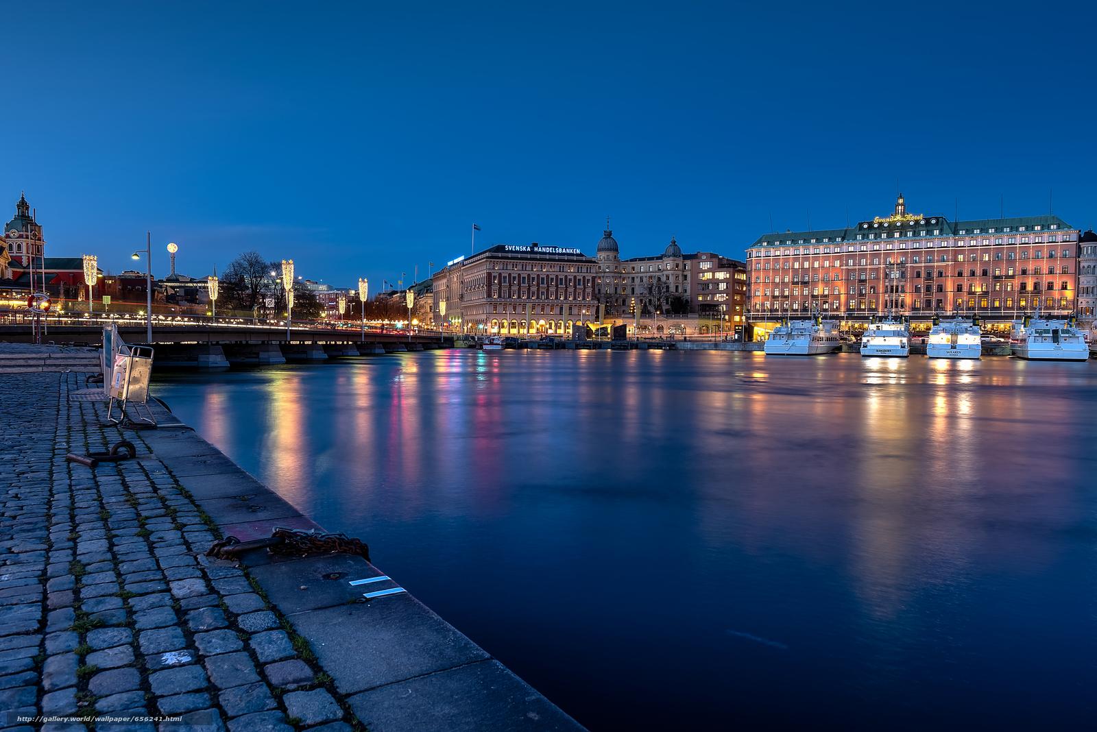Descargar gratis Estocolmo,  Suecia,  ciudad Fondos de escritorio en la resolucin 7372x4920 — imagen №656241