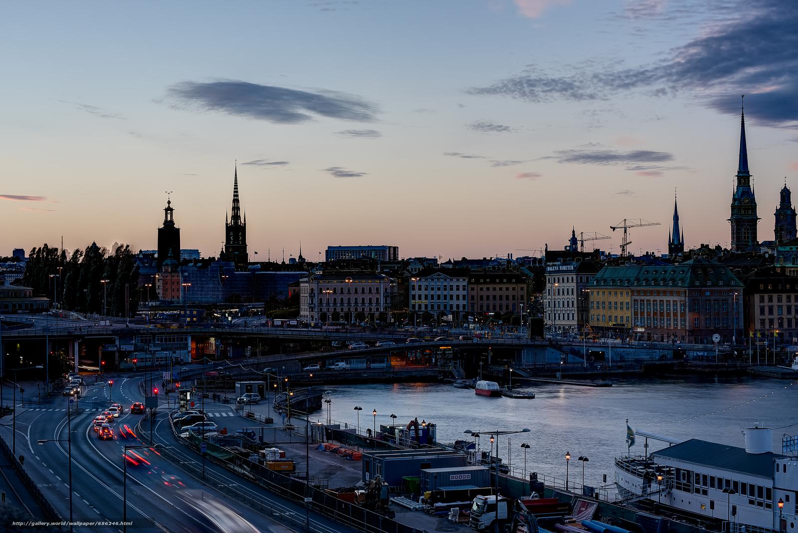 scaricare gli sfondi Stoccolma,  Svezia,  città Sfondi gratis per la risoluzione del desktop 7371x4920 — immagine №656246