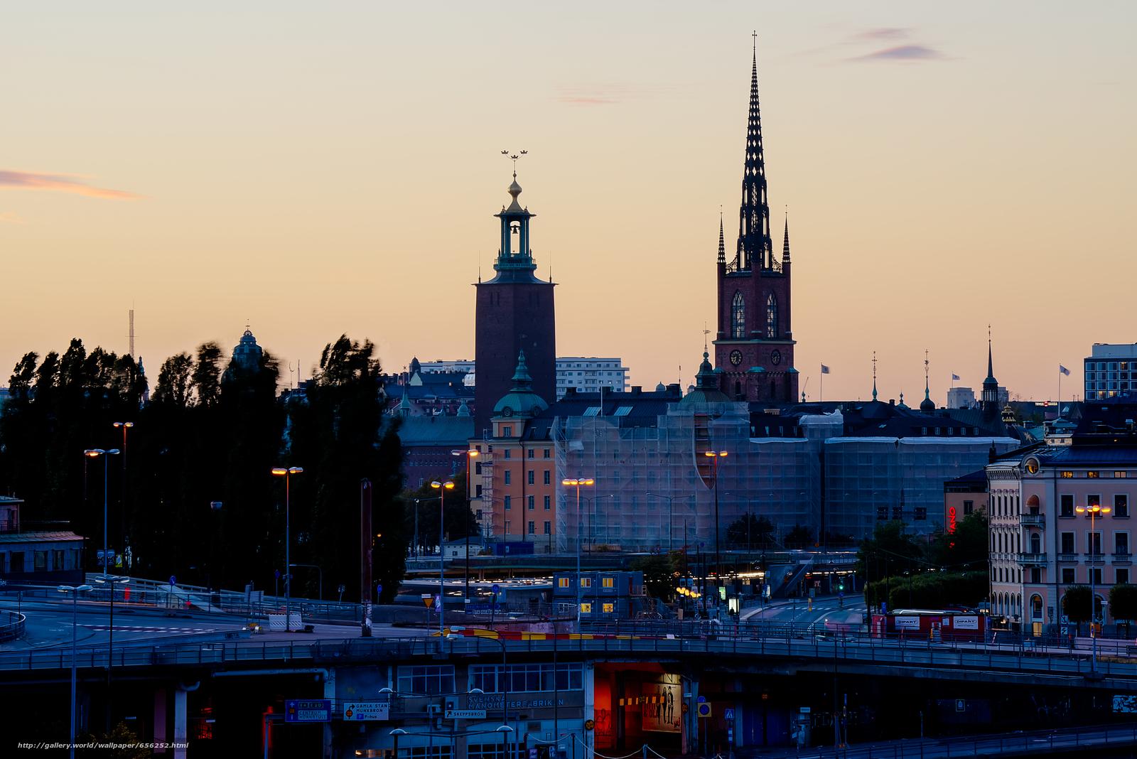 scaricare gli sfondi Stoccolma,  Svezia,  città Sfondi gratis per la risoluzione del desktop 7370x4918 — immagine №656252