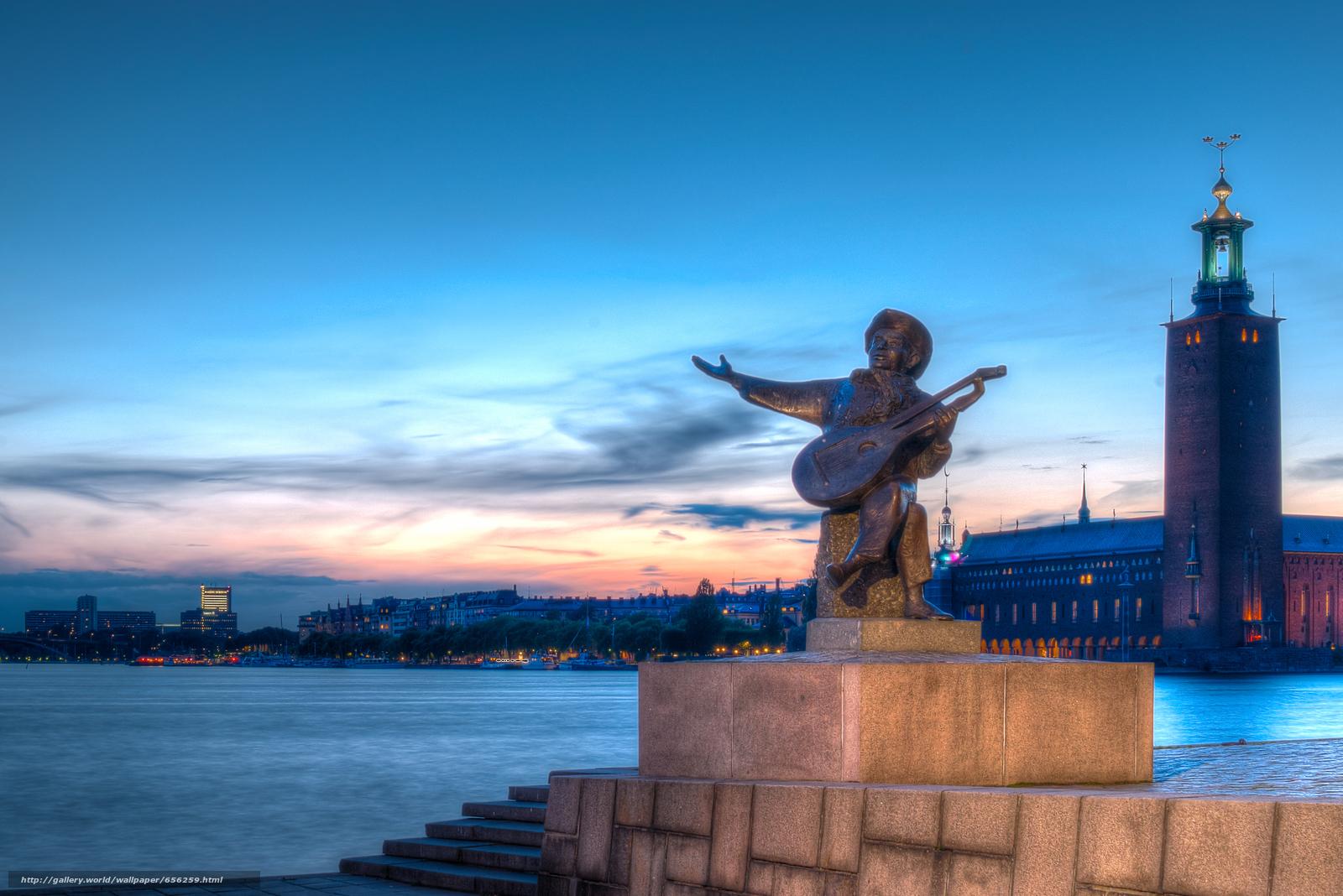 壁紙をダウンロード ストックホルム,  スウェーデン,  都市 デスクトップの解像度のための無料壁紙 6015x4016 — 絵 №656259