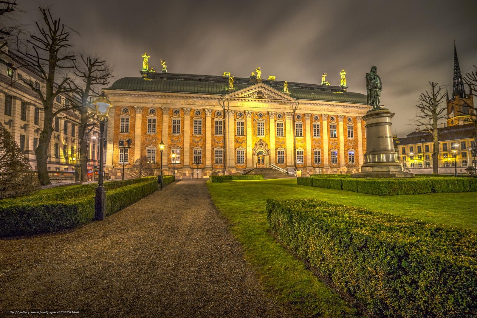 scaricare gli sfondi Stoccolma,  Svezia,  città Sfondi gratis per la risoluzione del desktop 6000x4000 — immagine №656270