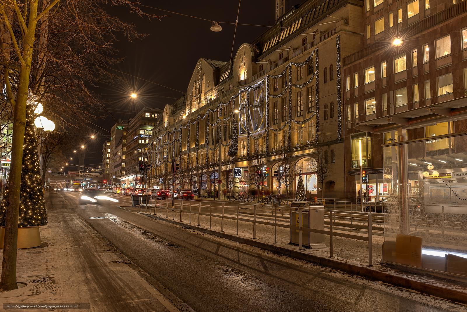 scaricare gli sfondi Stoccolma,  Svezia,  città Sfondi gratis per la risoluzione del desktop 7372x4920 — immagine №656272