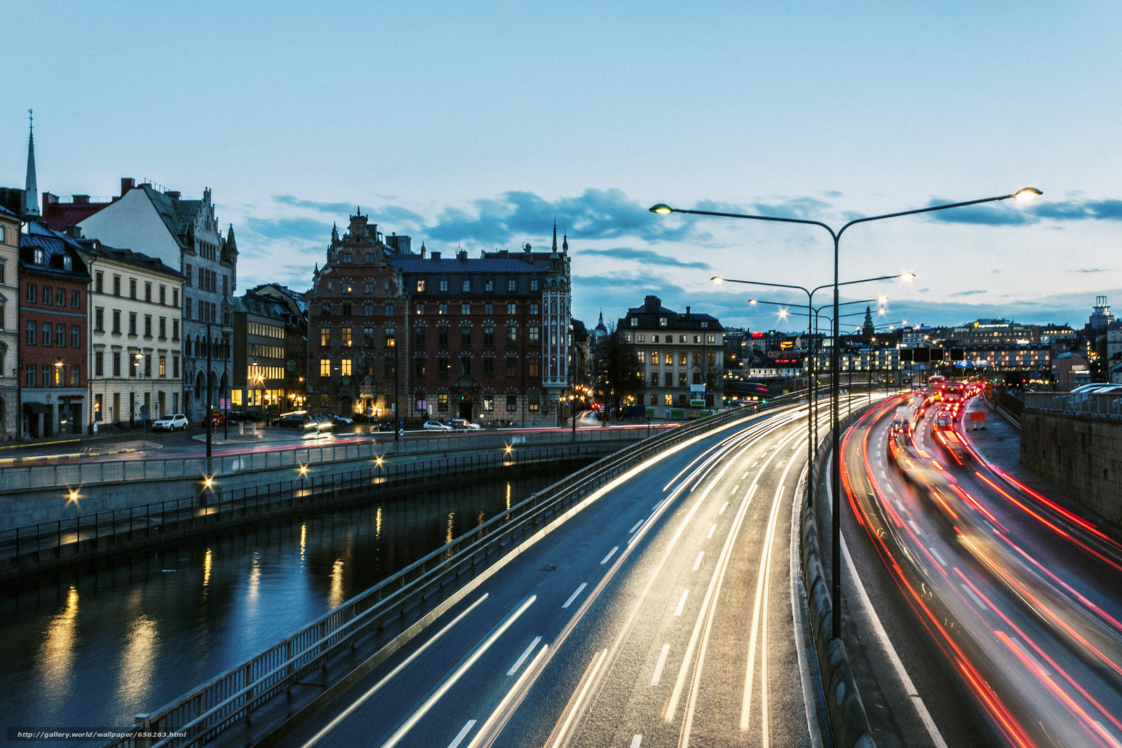 Скачать обои Stockholm,  Sweden,  город бесплатно для рабочего стола в разрешении 3072x2048 — картинка №656283