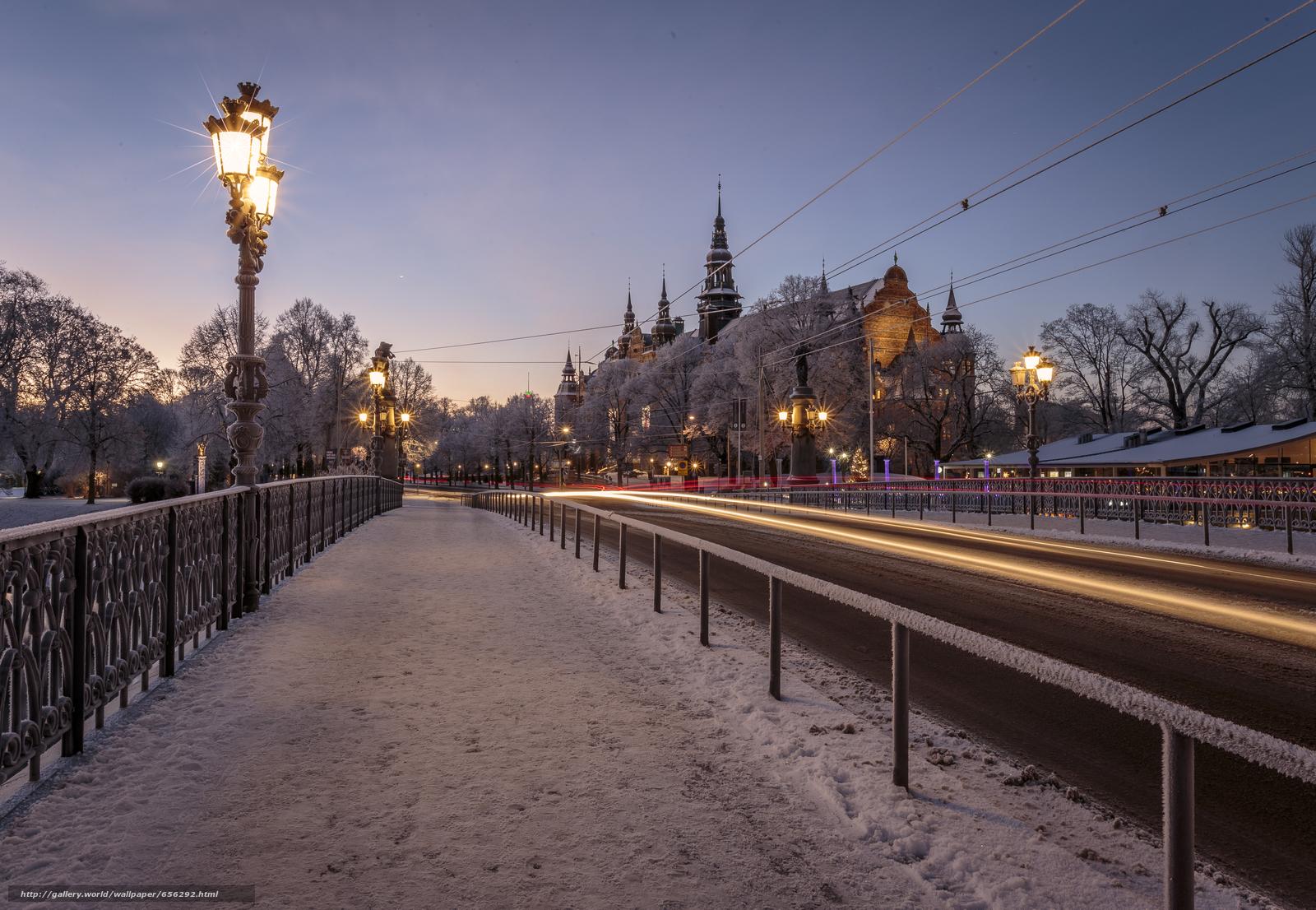 scaricare gli sfondi Stoccolma,  Svezia,  città Sfondi gratis per la risoluzione del desktop 5137x3551 — immagine №656292