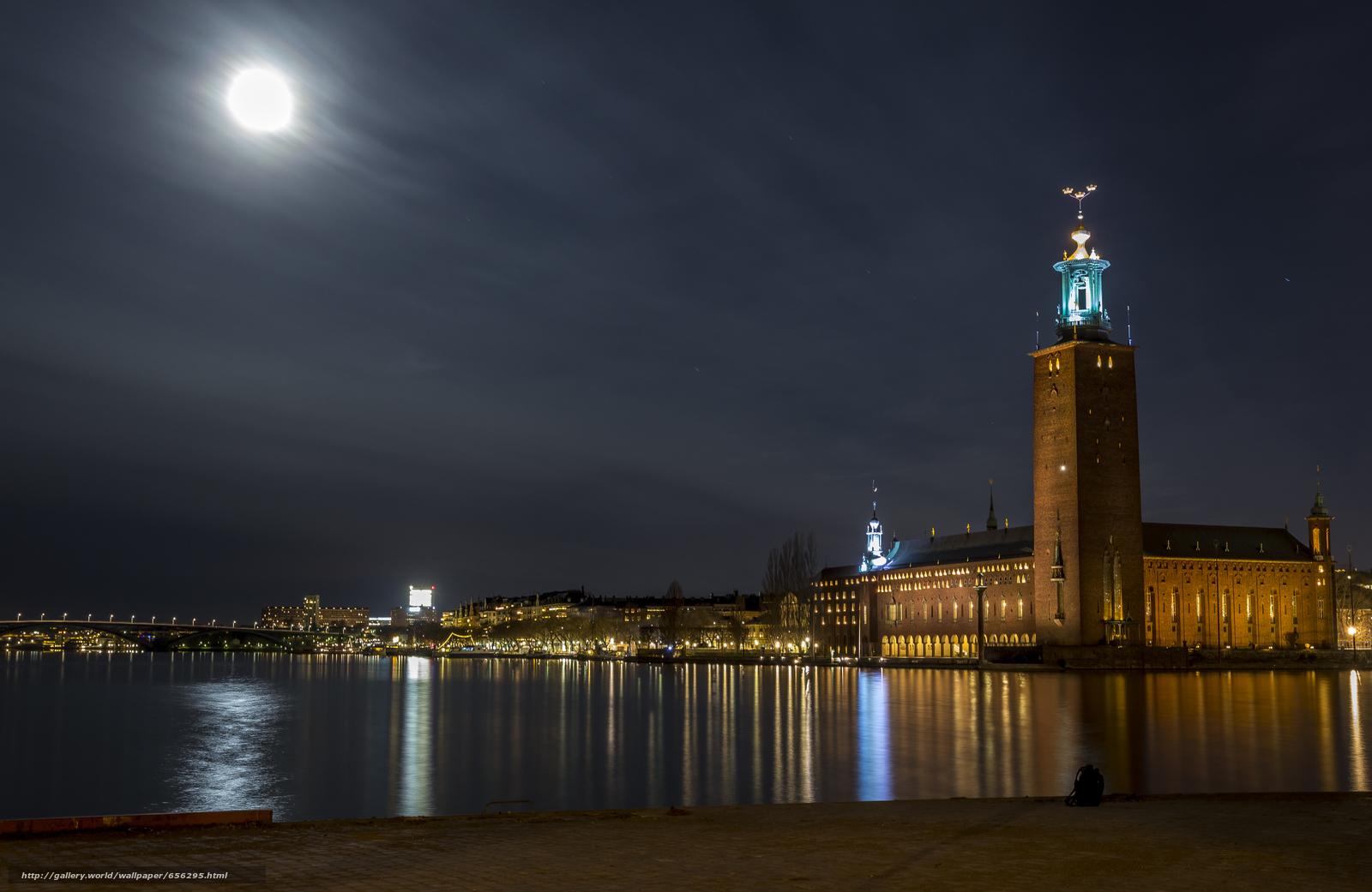 scaricare gli sfondi Stoccolma,  Svezia,  città Sfondi gratis per la risoluzione del desktop 5244x3412 — immagine №656295