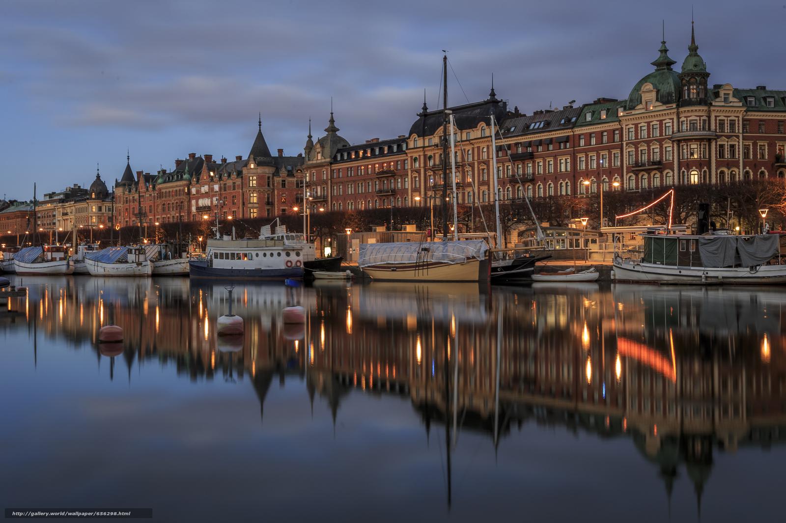 scaricare gli sfondi Stoccolma,  Svezia,  città Sfondi gratis per la risoluzione del desktop 5293x3524 — immagine №656298