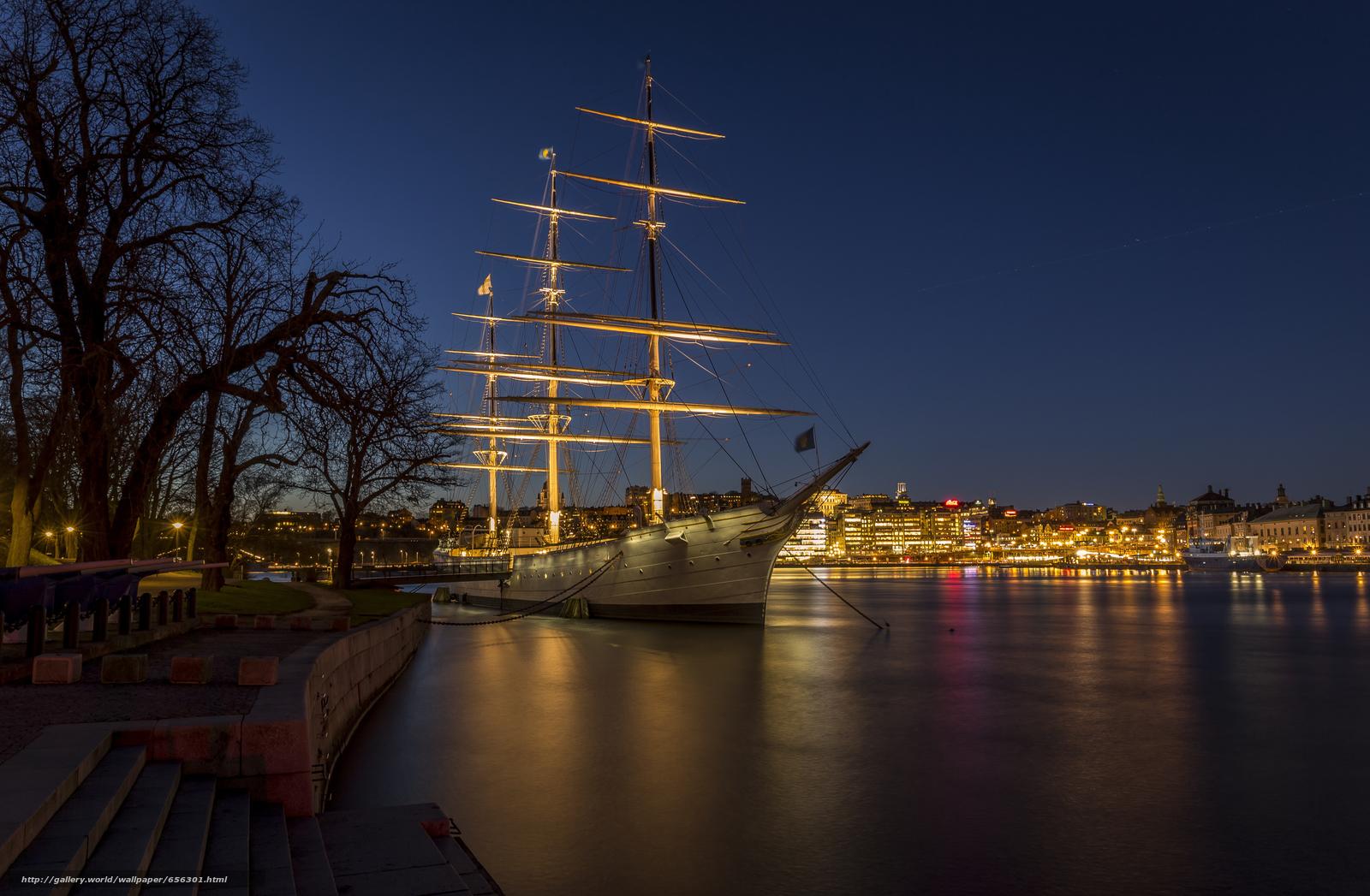 scaricare gli sfondi Stoccolma,  Svezia,  città Sfondi gratis per la risoluzione del desktop 5382x3523 — immagine №656301