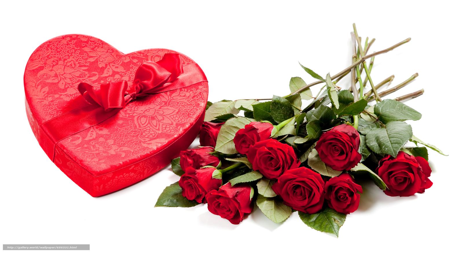 С Днем Сердца открытка - Любовь и романтика - Анимационные блестящие 70