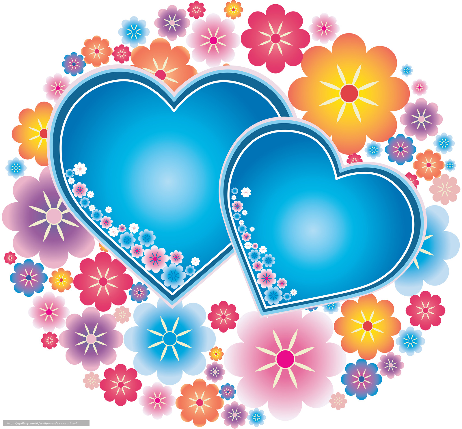 Скачать обои день святого валентина,  день всех влюбленных,  праздник,  сердце бесплатно для рабочего стола в разрешении 5000x4645 — картинка №656412