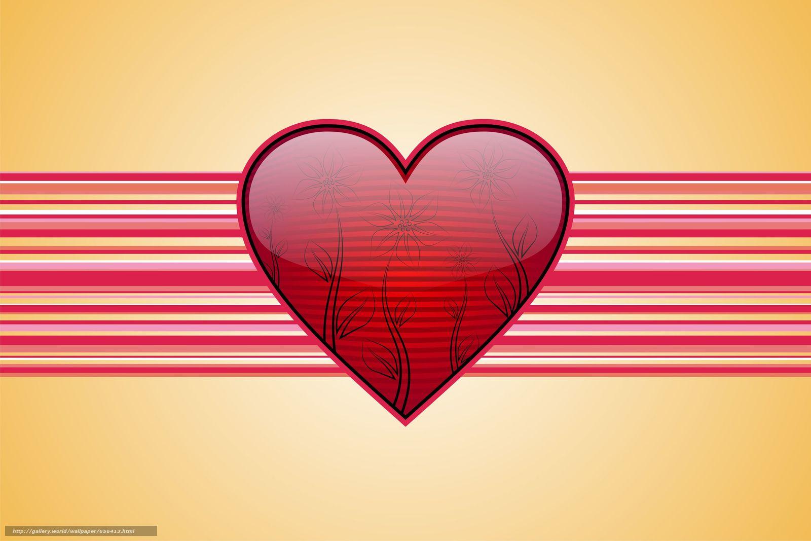 scaricare gli sfondi Personas per Kisenok,  Valentine,  San Valentino,  vacanza Sfondi gratis per la risoluzione del desktop 3000x2000 — immagine №656413