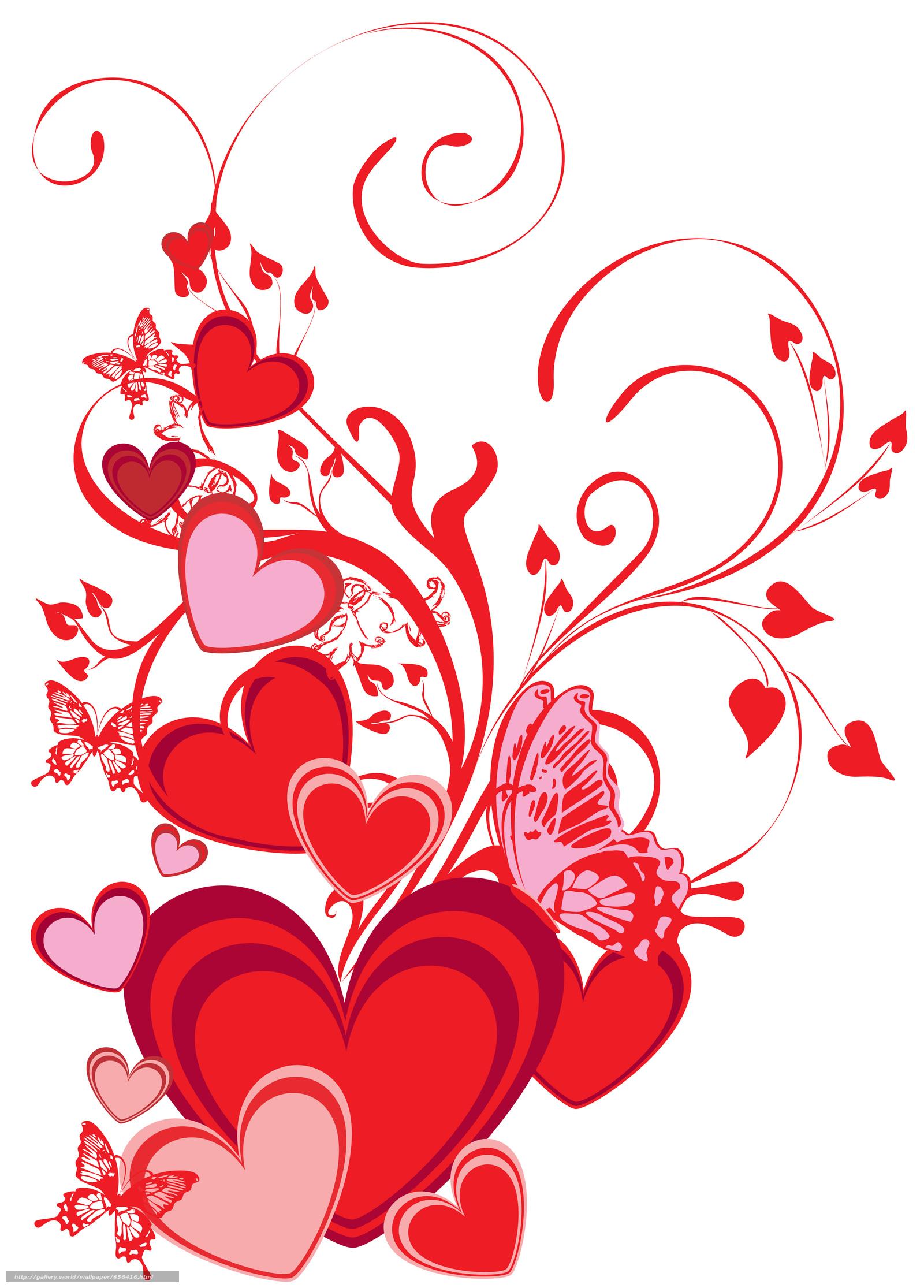 scaricare gli sfondi Valentine,  San Valentino,  vacanza,  cuore Sfondi gratis per la risoluzione del desktop 4102x5718 — immagine №656416