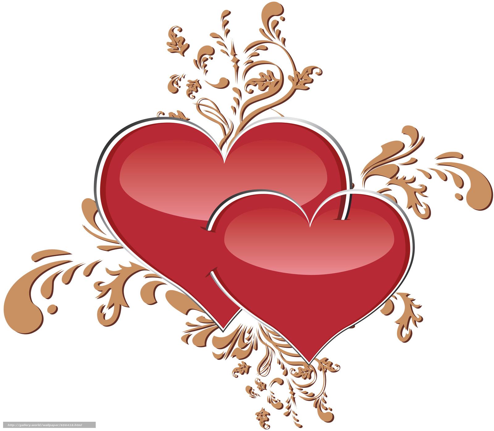 scaricare gli sfondi Valentine,  San Valentino,  vacanza,  cuore Sfondi gratis per la risoluzione del desktop 3977x3474 — immagine №656418