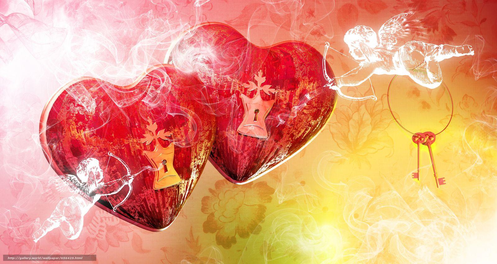 Скачать обои обои от Kisenok,  день святого валентина,  день всех влюбленных,  праздник бесплатно для рабочего стола в разрешении 10600x5632 — картинка №656425