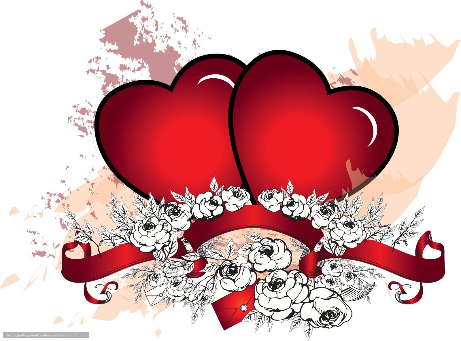 Скачать обои день святого валентина,  день всех влюбленных,  праздник,  сердце бесплатно для рабочего стола в разрешении 2148x1590 — картинка №656455