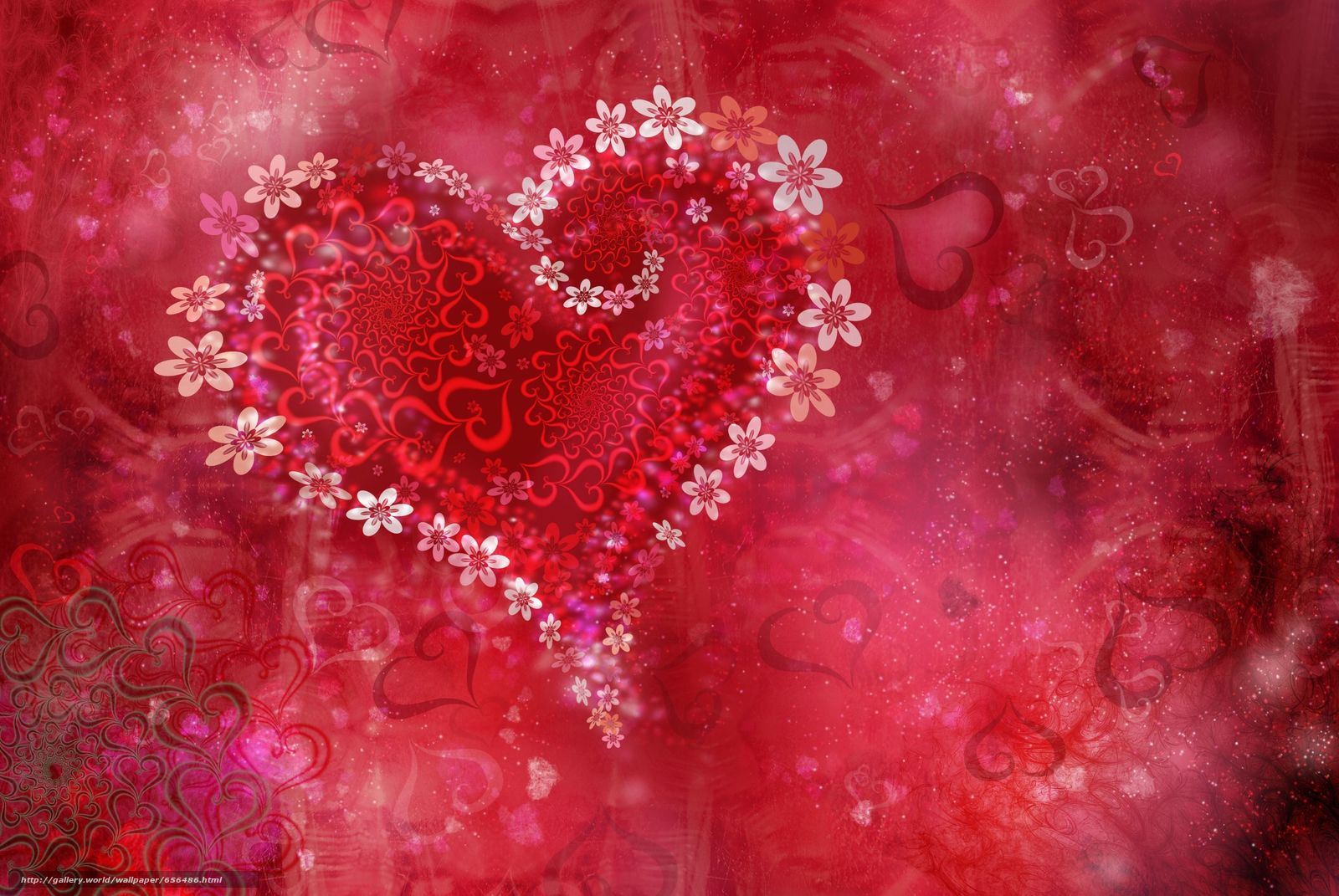 Download wallpaper Personas by Kisenok,  Valentine,  Valentine's Day,  holiday free desktop wallpaper in the resolution 3872x2592 — picture №656486