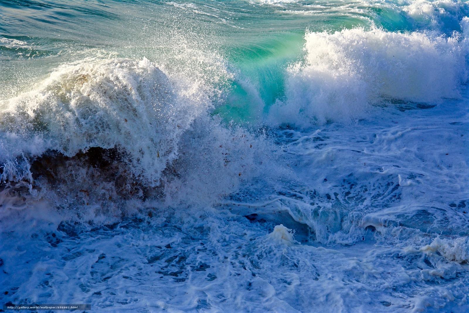 scaricare gli sfondi mare,  onde,  schiuma,  spruzzo Sfondi gratis per la risoluzione del desktop 6000x4000 — immagine №656961