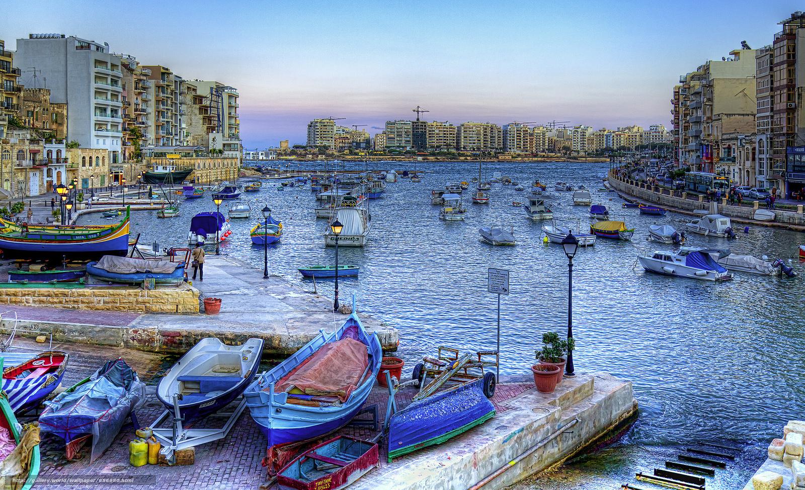 Скачать обои Спинола,  Сент-джулианс,  Мальта бесплатно для рабочего стола в разрешении 2048x1248 — картинка №656980