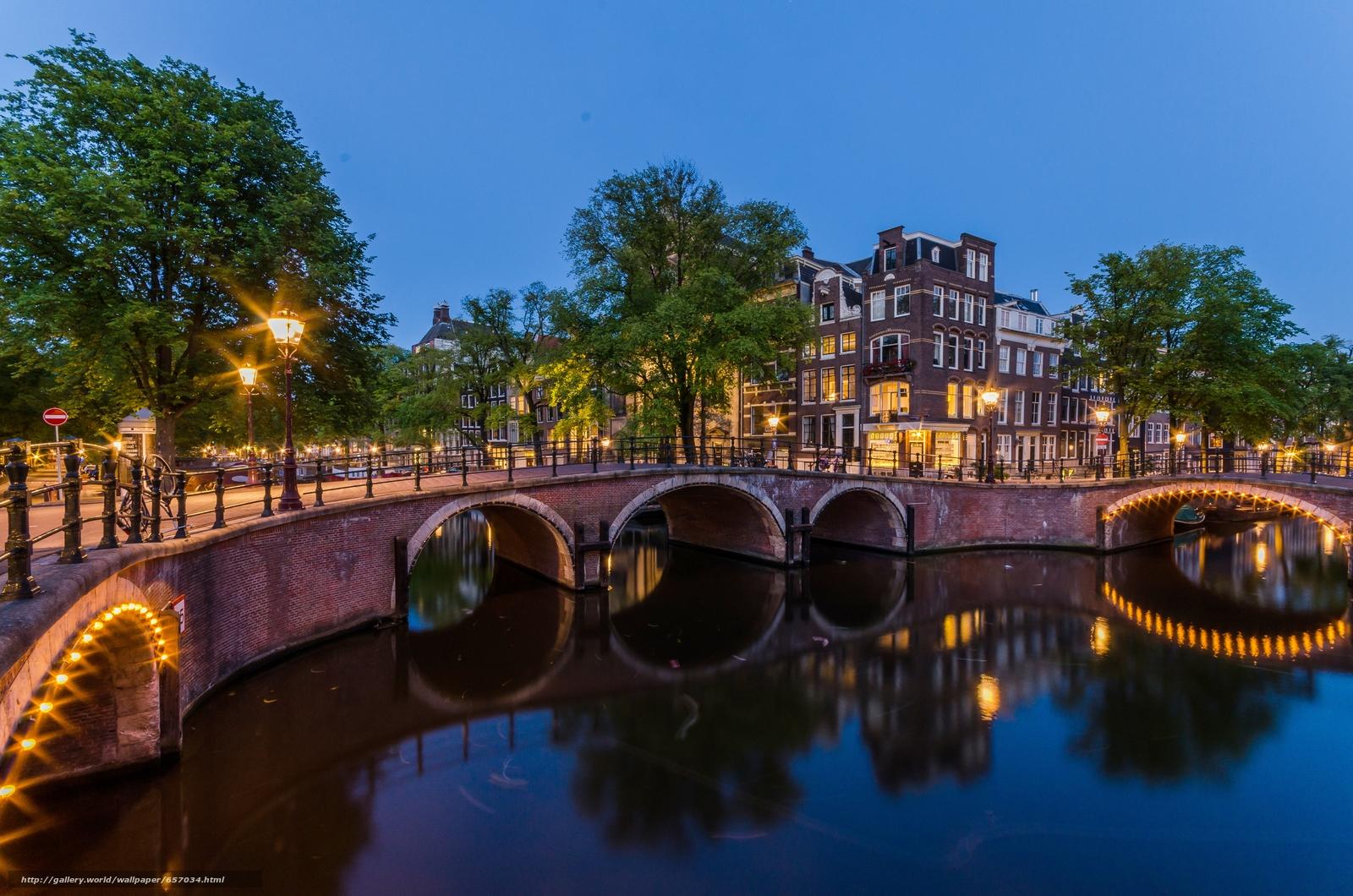 Скачать обои Amsterdam,  Амстердам,  столица и крупнейший город Нидерландов,  Нидерланды бесплатно для рабочего стола в разрешении 4928x3264 — картинка №657034