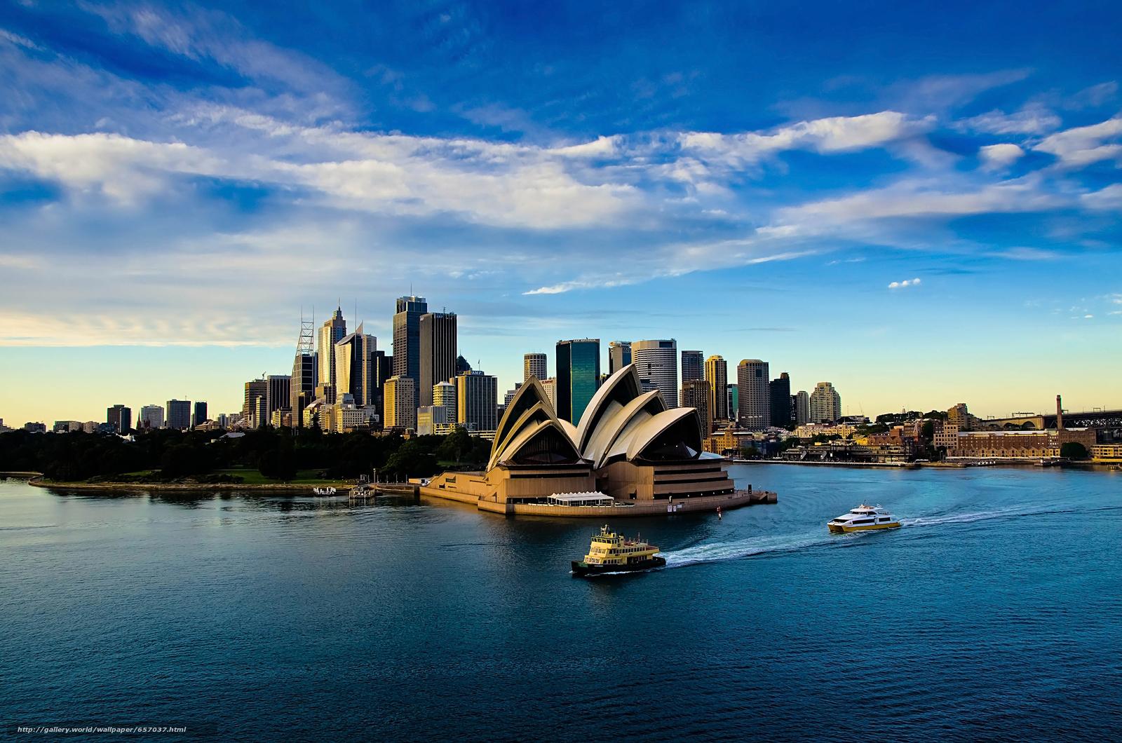 Скачать обои Sydney,  Australia,  Сидней,  Австралия бесплатно для рабочего стола в разрешении 4928x3264 — картинка №657037